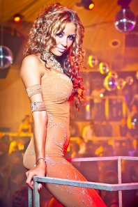 Танцовщица гоу-гоу Даша