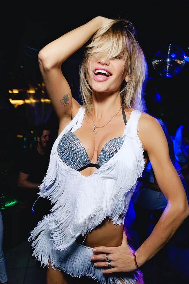 Танцовщица гоу-гоу Натали Прана